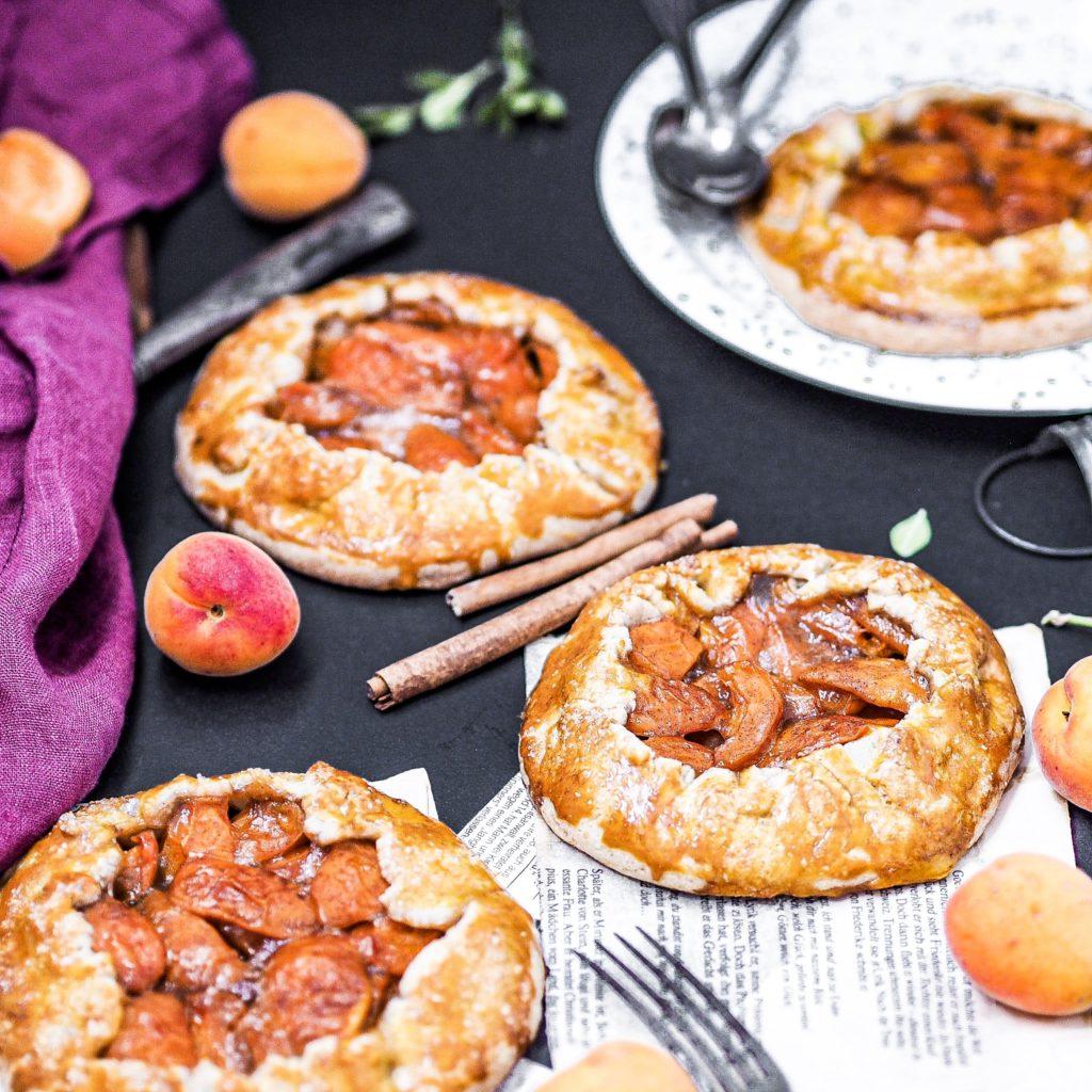 Pohankové galetky s meruňkami