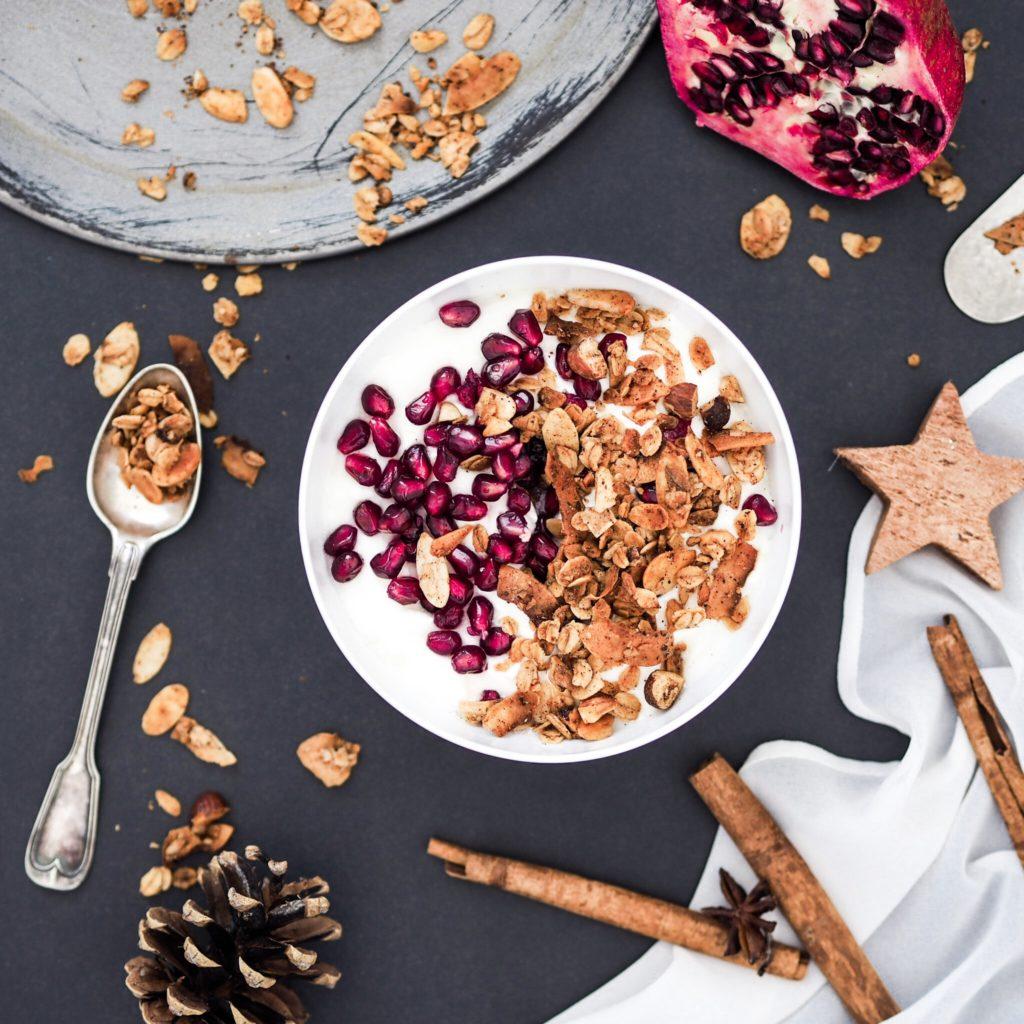 Vánoční granola