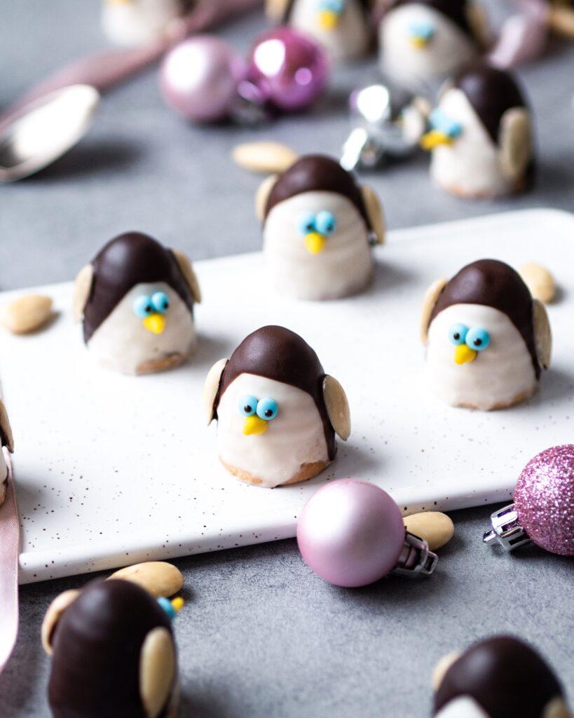 tučňáci - vosí hnízda