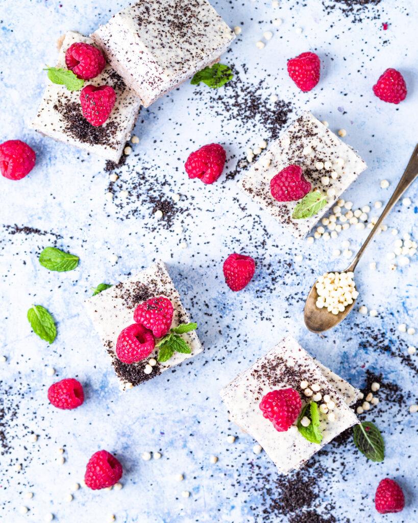 Makový cheesecake