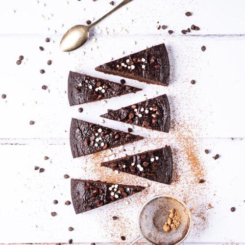 Brownies z červené řepy