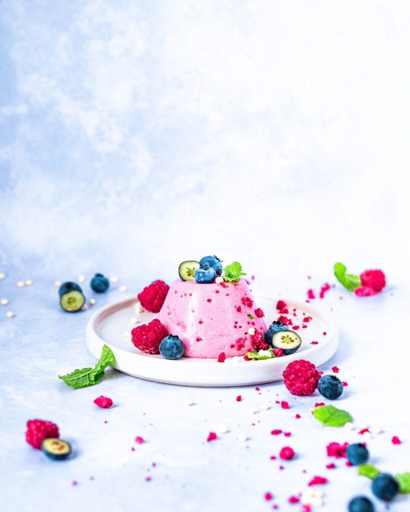 Jogurtová panna cotta